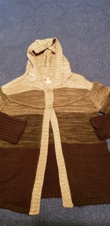 Girls Size 10 12 Hooded Cardigan Sweater See Pix in St. Charles, Illinois