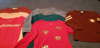 Girls Long Sleeve Layering Tee Shirts 12 14 See Pix in St. Charles, Illinois