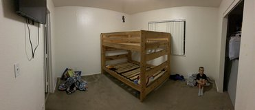 Full bunk bed in Cherry Point, North Carolina
