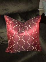 Decorative Pillow Red in Naperville, Illinois