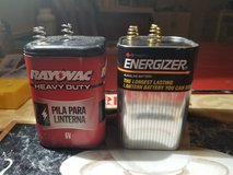 Two Heavy Duty 6 Volts Batteries in Yucca Valley, California