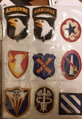 Army patches in Fort Campbell, Kentucky