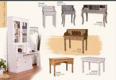 United Furniture - Desks for Home -Solid Wood - available in many colors with delivery in Grafenwoehr, GE