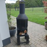 outdoor fireplace in Baumholder, GE