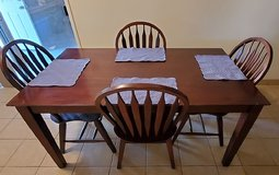 Dining set with 4 chairs in 29 Palms, California