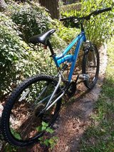 "Mongoose XR 75 Aluminum Full Suspension 26"" Tire 21 Speed Mountain Bike in Houston, Texas"