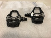 Shimano carbon road bicycle pedals in Houston, Texas