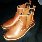 mens brown slip-on boots size 11 in Alamogordo, New Mexico