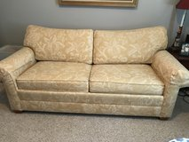 Ethen Allen sofa for a queen size pull out mattress Excellent condition ! in Camp Lejeune, North Carolina