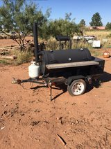 Wood Smoker on trailer in Alamogordo, New Mexico