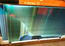 damaged big-screen UHD TVs for DIY parts/repair in Tacoma, Washington
