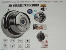 Mini Wifi IP Camera HD 1080P Wireless Indoor Camera Nightvision Two Way Audio Motion Detection in Chicago, Illinois