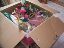 Box Craftsupplies---Scraps of fabric in Ramstein, Germany