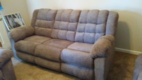 new Living Room Set (couch-both ends recline, Love Seat-both recline and recliner in Fort Campbell, Kentucky