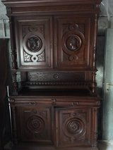 French Buffet Henri II In Walnut, France 19 Ct. in Wiesbaden, GE