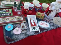 Christmas decor lot in Spring, Texas