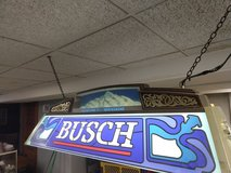 Vintage Busch Pool Table Light in Oswego, Illinois