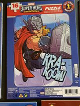 NEW Marvel Super Hero Adventures THOR My First Puzzle 16 Piece in Morris, Illinois