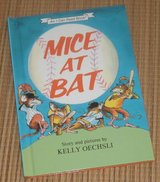 Vintage 1986 Mice at Bat An I Can Read Hard Cover Book in Chicago, Illinois