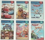 Disney Cars Planes 6 Stories Early Readers Step into Reading Hard Cover Book w Poster in Chicago, Illinois