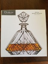 GORGEOUS GODINGER DUBLIN CRYSTAL DECANTER in Beale AFB, California