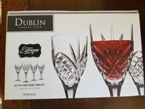GODINGER DUBLIN CRYSTAL WINE GLASSES in Beale AFB, California