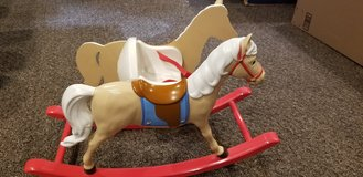 American Girl Bitty Baby Rocking Horse in Plainfield, Illinois