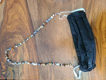 Beaded Mask lanyard in Converse, Texas