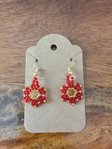 Beaded earrings in Converse, Texas