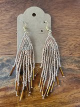 Gold Beaded earrings in Converse, Texas