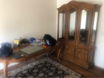 Oak Table and matching Hutch in Camp Pendleton, California
