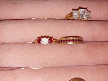 Ruby diamond ring appraised over 1000 make am offer in Fort Leonard Wood, Missouri
