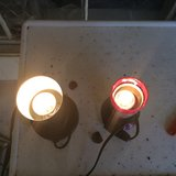 Two small lights in Kingwood, Texas
