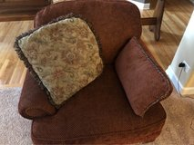 Sherrill Furniture Red Arm Chair in Naperville, Illinois