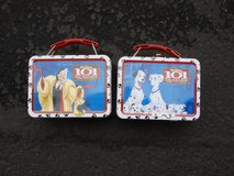 PAIR OF 101 DALMATIONS SMALL LUNCH BOXES in Bartlett, Illinois