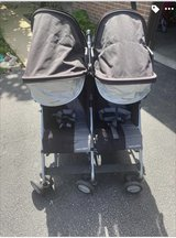 Maclaren triumph double stroller! in Oswego, Illinois