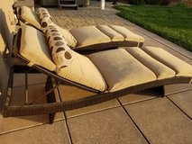 Patio chaise lounges in Vacaville, California