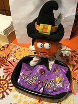 M&M Halloween Orange Witch Candy Dish in Fort Campbell, Kentucky