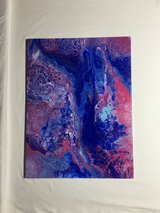 Original fluid acrylic painting 2 in Warner Robins, Georgia