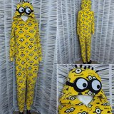MINION one-piece pj's or Halloween Costume in Pearland, Texas