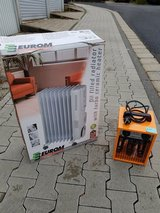 Electric Heaters  (1 oil-filled; both with electric fans) in Wiesbaden, GE