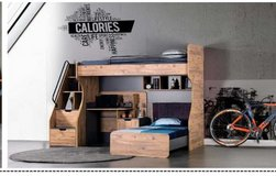 United Furniture - Kanton Bunk Bed Set complete with Mattresses and delivery in Stuttgart, GE