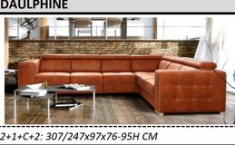 United Furniture - Dauphine Sectional including delivery in Ramstein, Germany