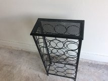 Metal wine rack , Reduced in Kingwood, Texas
