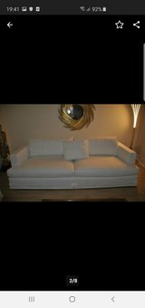 Who's perfect Karma Sofa Couch 240 cm lenght white in Stuttgart, GE