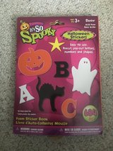 New! It's So Spooky Halloween Foam Stickers Book in Naperville, Illinois