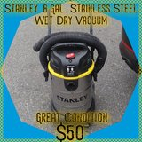 Stanley 8 Gal. Stainless Steel Shop Vac in Tacoma, Washington