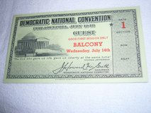Historical Political Convention Tickets in Ramstein, Germany