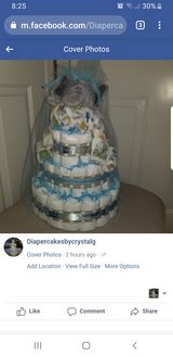 Handmade Diaper Cakes available! in Fort Meade, Maryland