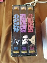 Starwars 3 VHS Tapes in 29 Palms, California
